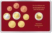 Euro-Kursmünzensatz 2002 PP D