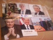 200 Autogramme Politik Gesellschaft