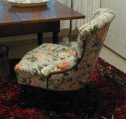 Schöner fein restaurierter Sessel