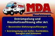 MDA Dienstleistungen Entrümpelungen