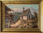 Meisterl Antik-Gemälde EMIL SCHILL 1870