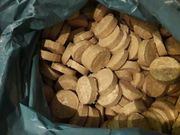 Holz- Briketts Rund ø60mm 2-3cm