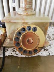 Marmortelefon Wählscheibe Top wie neu