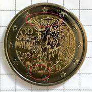Außergewöhnliche 2 Euro Münze