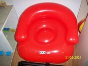 Verkaufe aufblasbaren Kindersitz 60 cm