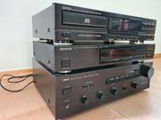 Stereoanlage mit Tuner Verstärker CD-Spieler