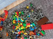 Lego Duplo Eisenbahn Lok Schienen