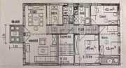 Gundernhausen - Etagenwohnung in 3-Familien-Haus ca