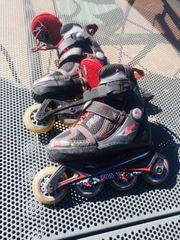 Gut erhaltene Rollerblades für Kinder