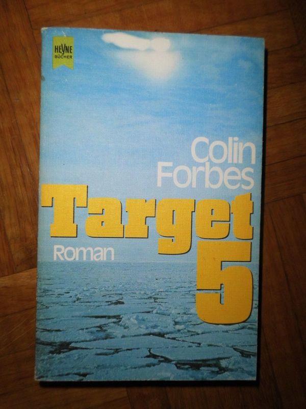 Buch Roman Colin Forbes Target