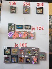 Gameboy advance colour spiele zu