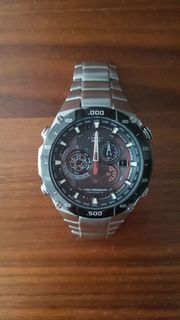 Casio Chronograph Edifice Wave Ceptor