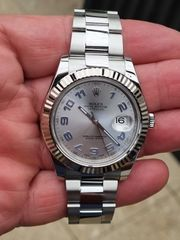 Rolex Datejust 41 Stahl Weißgold