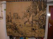 handgewebter Wandbehang 19 Jahrhundert