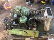 Hydraulikaggregat mit Ölkühler und Ventilen