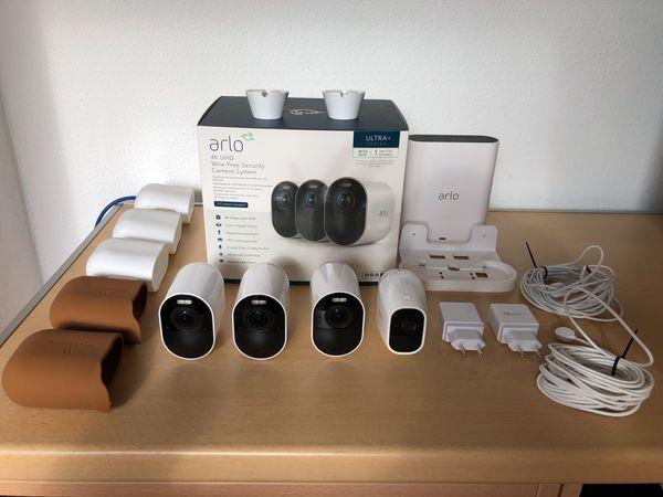 Arlo Ultra 4 K Überwachungskamera