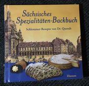 Sächsisches Spezialitäten-Backbuch Schlemmer-Rezepte v Dr