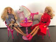 Barbie Mattel 2 Puppen mit