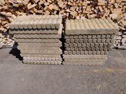Beton Steine Randsteine für Garten