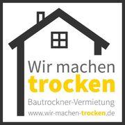 Bautrockner Haus-Trocknung Wasserschadenbeseitigung Estrichtrockner