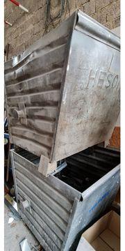 Schrottcontainer stapelbar kostenlos abzugeben