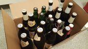 20 Flaschen Bier zu verschenken