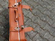 Koffer Leder braun Fa Cavalet