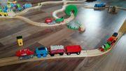 Brio Eisenbahn mit viel Zubehör