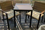 Ikea Tisch 2 Stühle mit