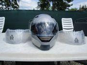 Motorradhelm Klapphelm mit Sonnenblende
