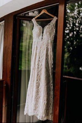 Alles für die Hochzeit - Brautkleid massgeschneidert 38