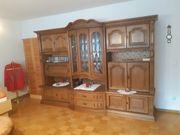 Schrank Wohnzimmer Eiche rustikal