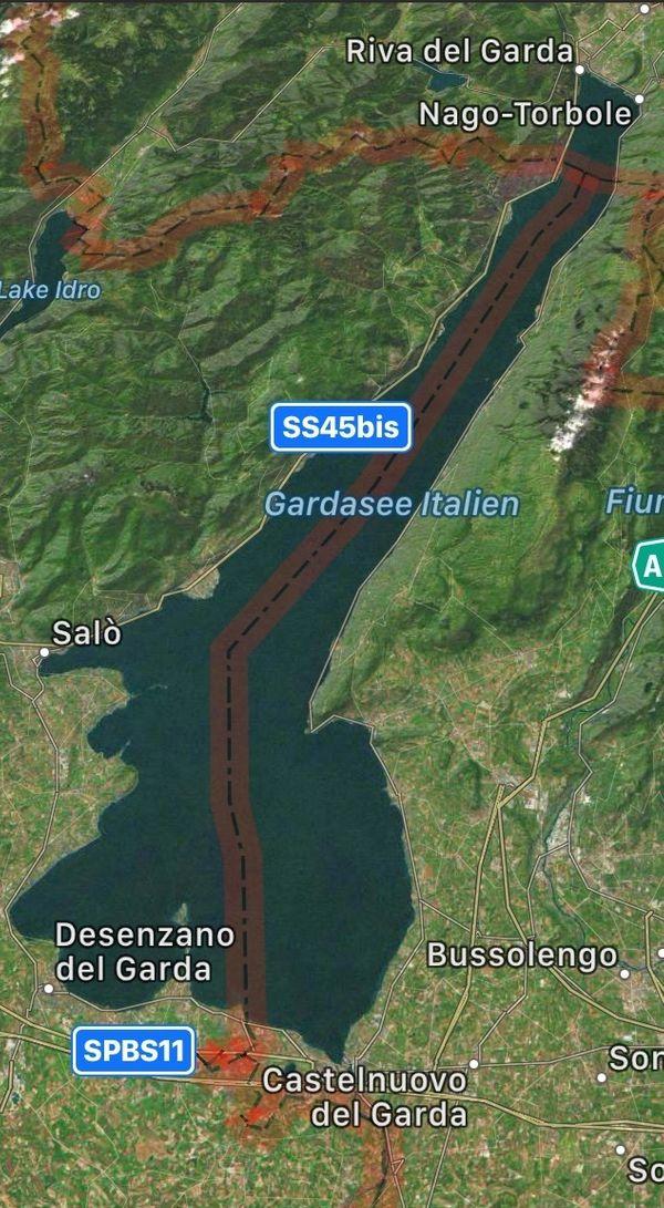 Unsere Wohnung am Gardasee