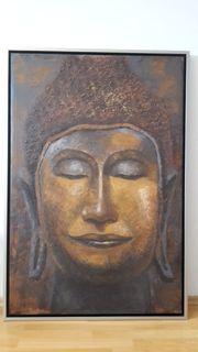 Ölbild Buddha handgemalt 85x125