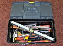 Werkzeuge, Zubehör - Werkzeug Kiste Konvolut Werkzeugkiste Zange