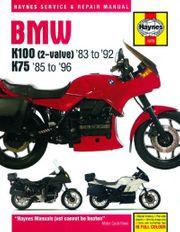 Haynes BMW K100 K75 Wartungs-
