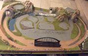 Landschaft für Modelleisenbahn