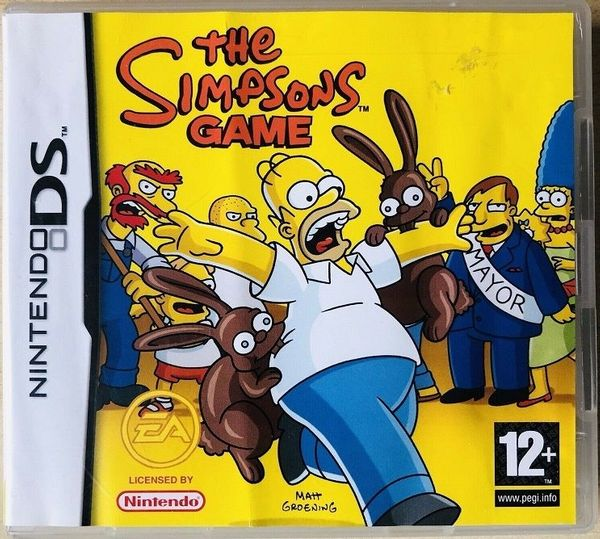 Nintendo DS Spiel - SIMPSONS