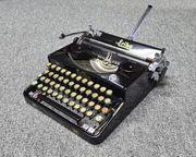 Alte ERIKA-Schreibmaschine Fa Naumann - Henri