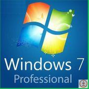Microsoft Windows 7 Pro Professional