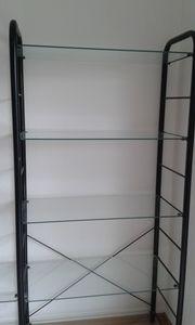 Glasregal von IKEA