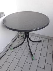 Tisch Balkon rund