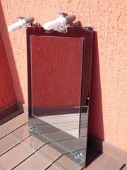Kristall-Form Lichtspiegel Pierre