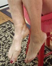 Frauen Füße lutschen