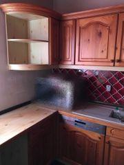 Einbauküche mit Massivholzfront inkl Geräte