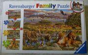 Ravensburger Family Puzzle Afrika teils