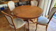 Wunderschöner Esstisch mit 4 Stühle