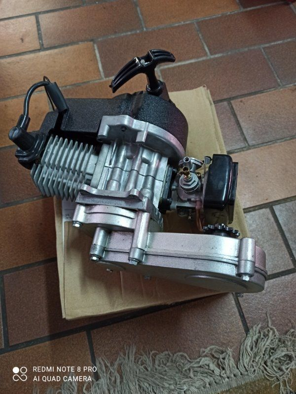 POCKET BIKE MOTOR 49CCM NEU