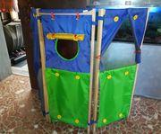 Kasperletheater Paravant Raumteiler f Kinderzimmer