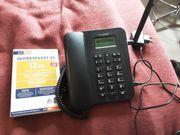 GSM Tischtelefon mit Jahresflat und